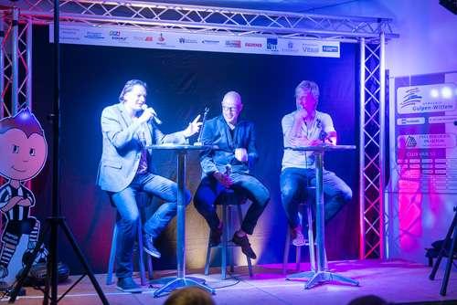 Sportcafé Zwart-Wit met Wim Kieft en Gert Jakobs groot succes!