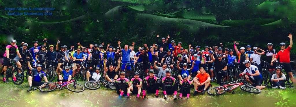 Jaarlijkse mountainbike evenement met Orgon