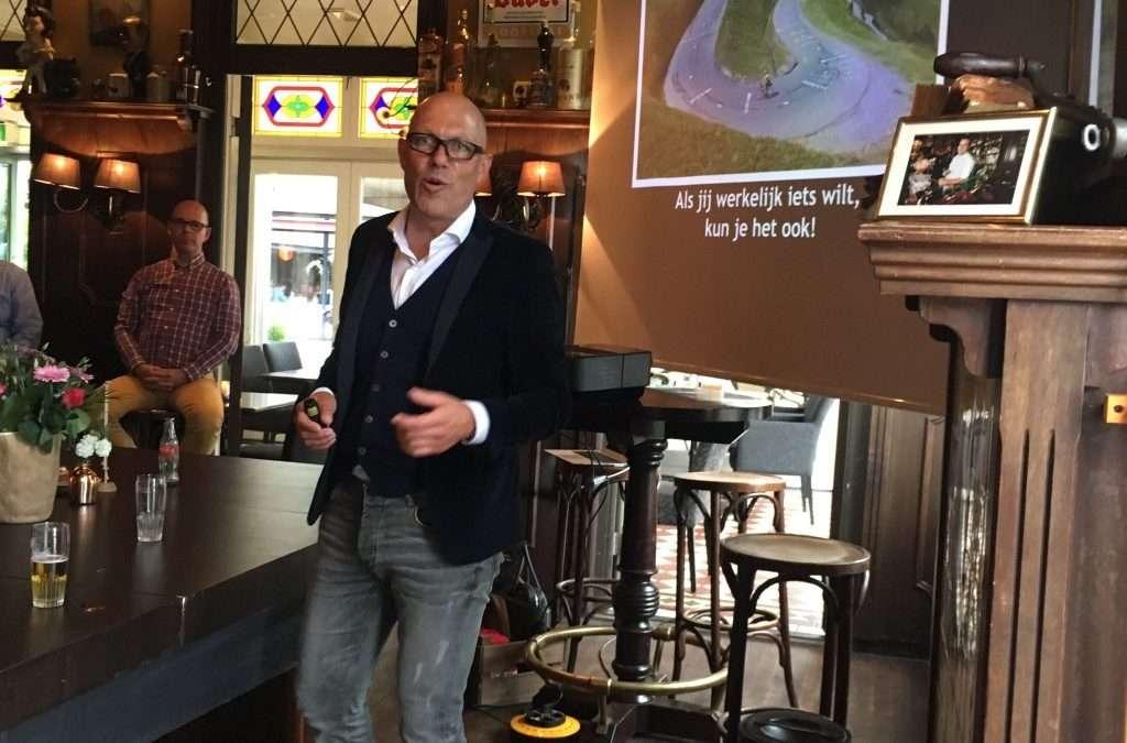 Presentatie bij Businessclub De Gouden Leeuw
