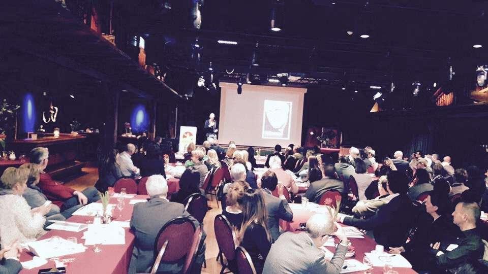 Gert Jakobs spreker bij werkgeversbijeenkomst van WerkgeversServicepunt Achterhoek